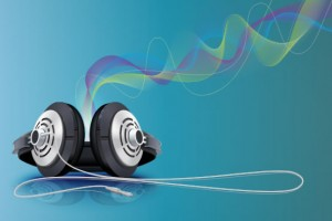 Headphones and Sound Waves